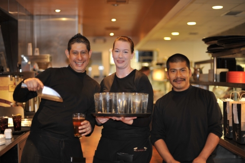 What a great group of people work at this restaurant at Shoreline Village in Long Beach, CA.