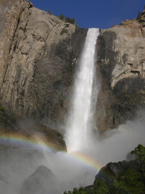 Bridalveil Falls - Yosemite 2009