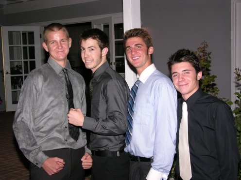 Bobby, Jessie, Jake, Tyler Prom 2008