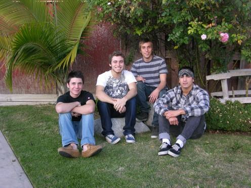 Tyler,, Jeremy, CJ, Jonathan V